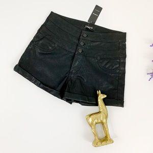 Bebe Triple Decker Shorts in Black